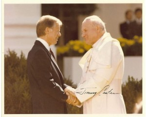 Carter and Pope
