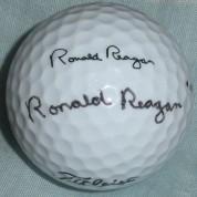 ReaganGolfBallSigned
