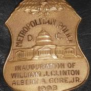 BadgeClinton1993MetroPolice