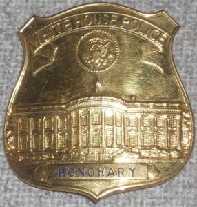BadgeWhiteHousePoliceHonorary