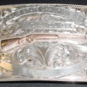 Belt buckle Sterling Shooting