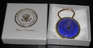 Clinton Key Ring