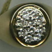 DiamondMensRing