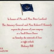 Lawford Dinner Dance Invitation