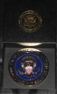 MedalGoldPresidentialSealandSealBox