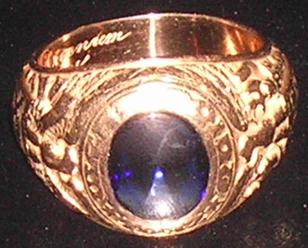 Solid Gold West Point Class Ring