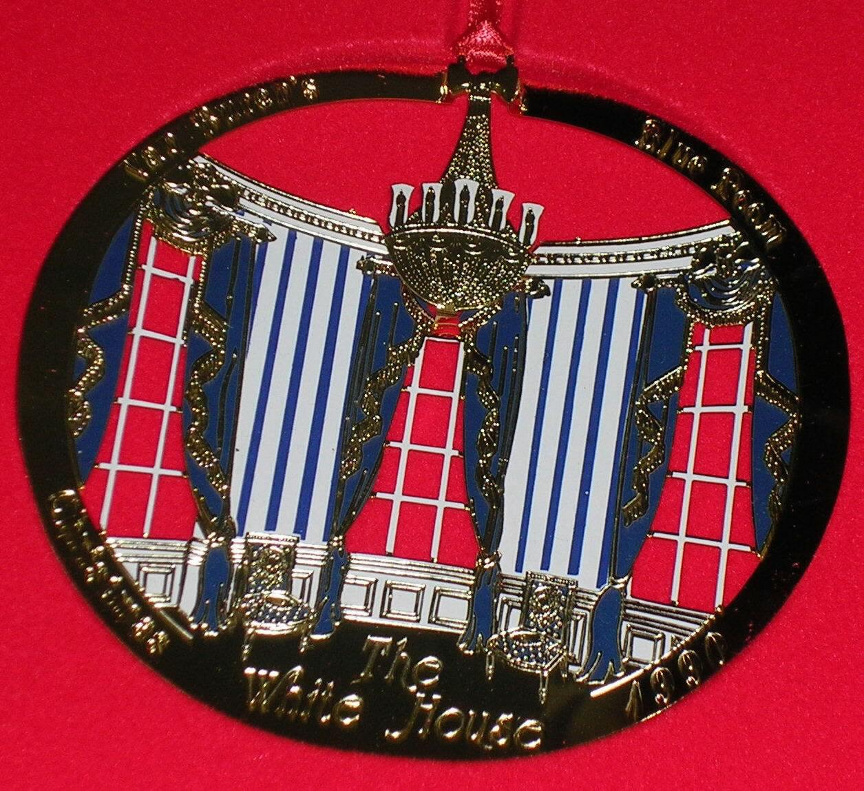 1990 White House Ornament